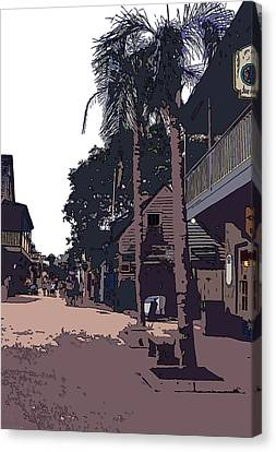 St. George Street Canvas Print by Mindy Newman