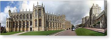 St. George's Chapel Canvas Print by Gary Lobdell
