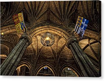 St. Giles Cathedral Canvas Print by Jim Dohms