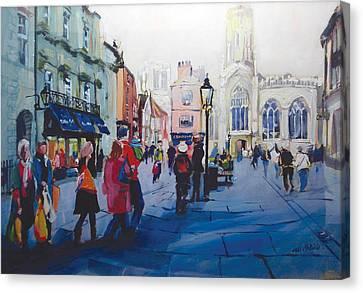 St Helen Square York Canvas Print by Neil McBride