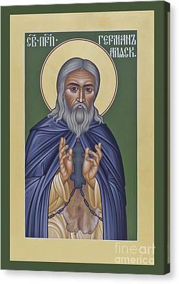 St Herman Of Alaska Canvas Print - St. Herman Of Alaska  - Rlala by Br Robert Lentz OFM