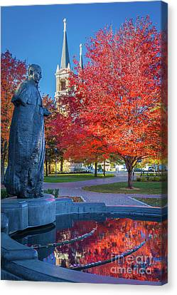 Educational Canvas Print - St Ignatius At Gonzaga by Inge Johnsson