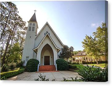 Canvas Print featuring the photograph St. James V3 Fairhope Al by Michael Thomas