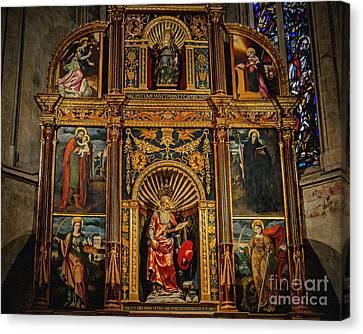 St. Jerome Chapel Altarpiece Canvas Print by Sue Melvin