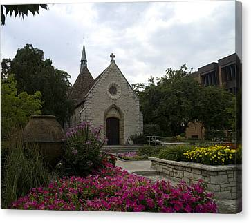 Canvas Print featuring the photograph St Joan Of Arc Chapel by Peter Skiba
