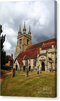 St John The Baptist Church Penshurst Kent Canvas Print by James Brunker