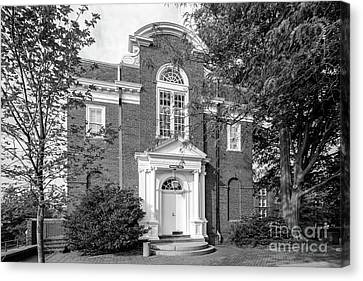 St. John's College Annapolis Randall Hall Canvas Print by University Icons