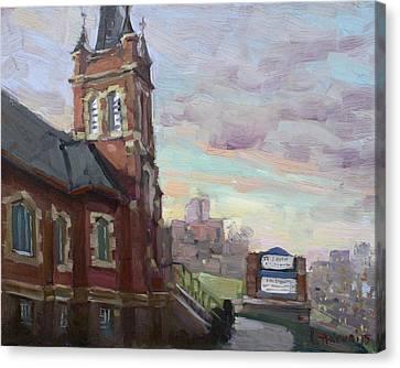 St John's Dixie  Canvas Print