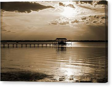 Canvas Print featuring the photograph St. Johns River by Anthony Baatz