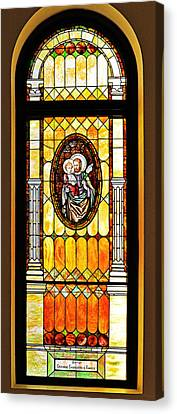 St Joseph Immaculate Conception San Diego Canvas Print by Christine Till