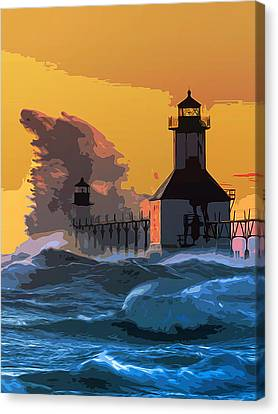 St Joseph Lighthouse Canvas Print