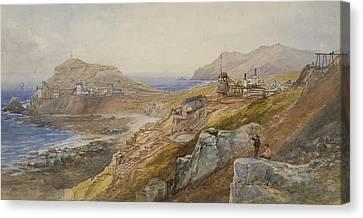 St Just United Mines Canvas Print