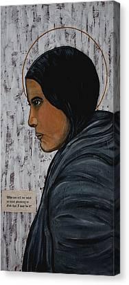 St. Kateri Tekakwitha Canvas Print by Ralph LeCompte