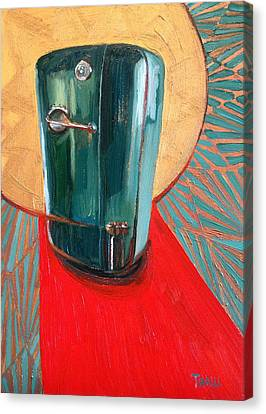St. Kelvinator Canvas Print by Jennie Traill Schaeffer