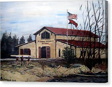 St. Lawrence Boathouse Canvas Print