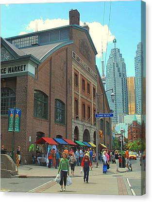St Lawrence Market Canvas Print