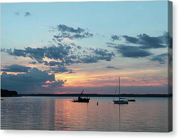 St. Lawrence Sunset II Canvas Print