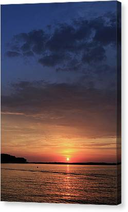 St. Lawrence Sunset 3 Canvas Print