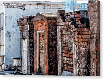 Canvas Print - St. Louis 1 Tombs--nola by Kathleen K Parker