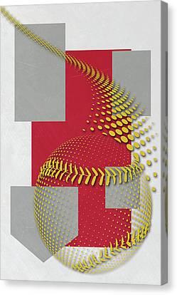 Mlb Canvas Print - St Louis Cardinals Art by Joe Hamilton