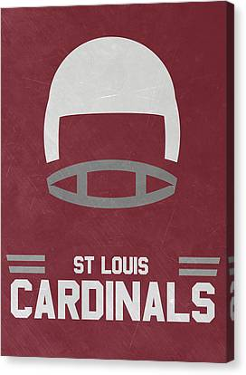 St Louis Cardinals Vintage Art Canvas Print
