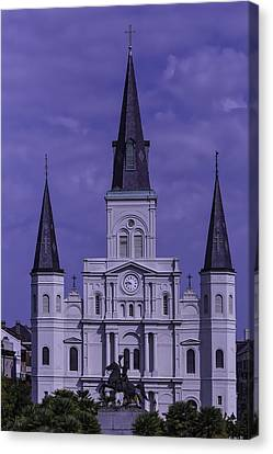 St.louis Cathedral Canvas Print - St. Louis Cathedral by Garry Gay