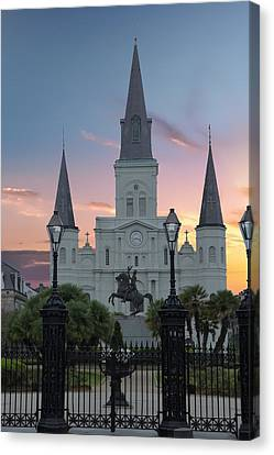 St Louis Cathedral, New Orleans Canvas Print
