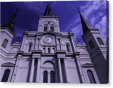 St. Louis Cathedral New Orleans Canvas Print by Garry Gay