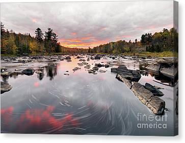 St. Louis River Sunset Canvas Print by Ernesto Ruiz
