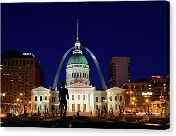 St. Louis Canvas Print by Steve Stuller