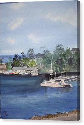 St Lucia Caribbean Canvas Print