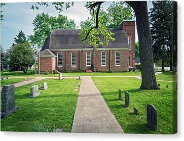 St Luke's Episcopal Church - Church Hill Md Canvas Print by Brian Wallace
