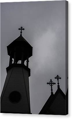 Canvas Print featuring the photograph St. Lukes by Guy Whiteley