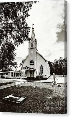 St. Margaret Catholic Church - Springfield La Canvas Print by Scott Pellegrin