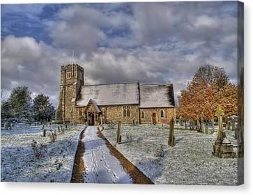 St Margarets Church Ridge Hertfordshire Canvas Print by Chris Thaxter