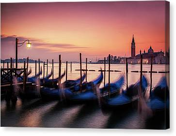 St. Marks At Sunset Canvas Print by Andrew Soundarajan