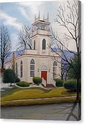 St. Marks  Canvas Print by John Clum
