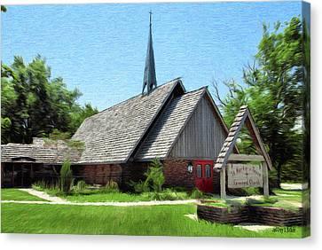 Crosses Canvas Print - St Martin Of Tours by Jeffrey Kolker