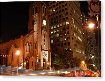 Sanfrancisco Canvas Print - St. Mary by Gene Sizemore