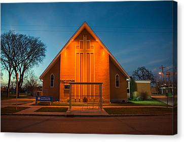 St. Mary Magdalene Anglican Canvas Print by Bryan Scott
