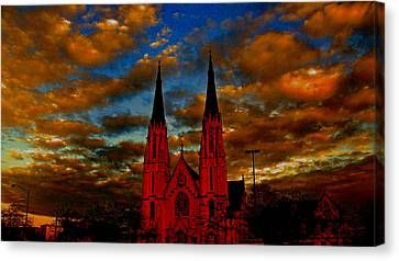 St. Mary Canvas Print by Martin Morehead