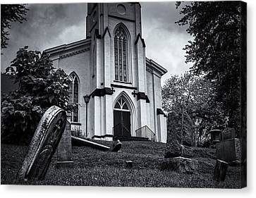St Mary Of The Snow Canvas Print by Joan Carroll