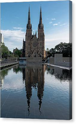 Canvas Print - St Mary's Cathedral by Steven Richman