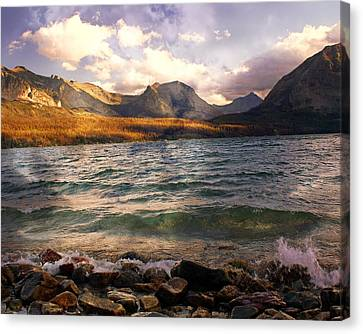 St. Mary's Lake 2 Canvas Print