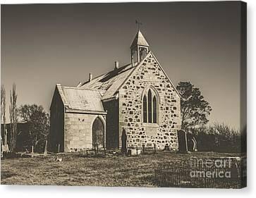 St Marys Vintage Church Canvas Print by Jorgo Photography - Wall Art Gallery