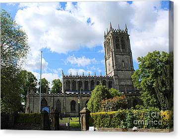 St. Mary's,tickhill Canvas Print