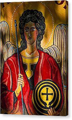 St. Michael  Canvas Print by Robert Ullmann