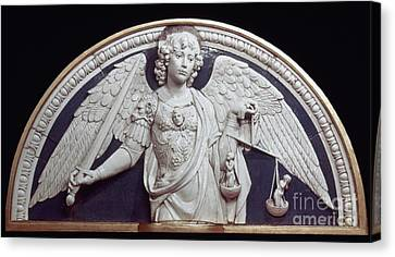 St. Michael The Archangel Canvas Print by Granger