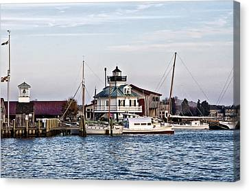 Maryland Canvas Print - St Michael's Maryland Lighthouse by Bill Cannon