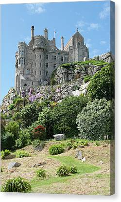 St Michael's Mount Castle II Canvas Print